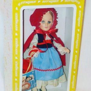 NIB Vintage 1975 Effanbee Little Red RidingHood